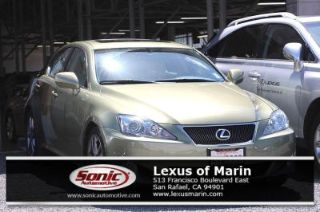 Used 2008 Lexus IS 250 in San Rafael, California
