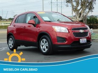 Used 2015 Chevrolet Trax LS in Carlsbad, California