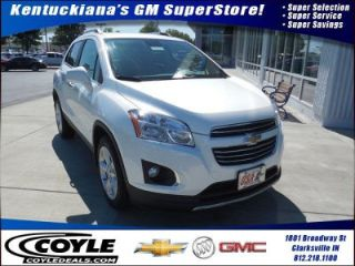 Used 2015 Chevrolet Trax LTZ in Clarksville, Indiana