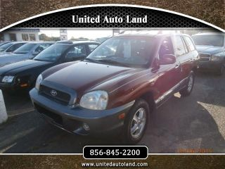 Used 2004 Hyundai Santa Fe GLS in Deptford, New Jersey