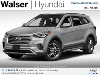 2018 Hyundai Santa Fe Limited Edition