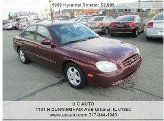 Used 1999 Hyundai Sonata GLS In Urbana Illinois
