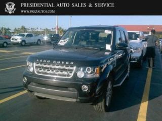Land Rover LR4 Base 2016