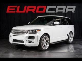 Used 2014 Land Rover Range Rover Supercharged in Greenville, North Carolina