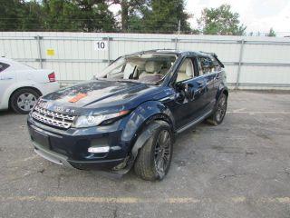 Land Rover Range Rover Evoque Prestige 2012