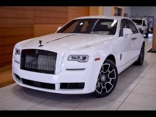 Rolls-Royce Ghost Black Badge 2018