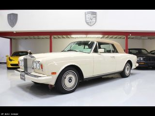 Used 1987 Rolls-Royce Corniche in Rancho Cordova, California