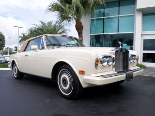 Rolls-Royce Corniche 1987