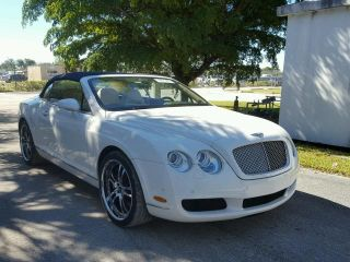 Bentley Continental GTC 2008