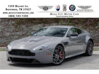 Used Aston Martin V Vantage S In Franklin Tennessee - Aston martin v12 vantage s price
