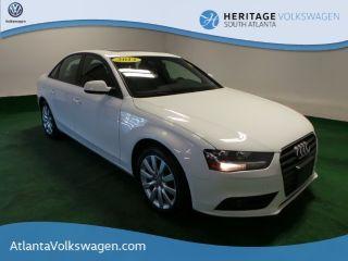 Audi A4 2.0T 2014