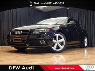 Used 2012 Audi A4 2.0T in Euless, Texas