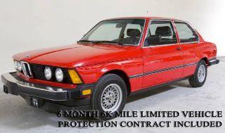 1982 BMW 3 Series 320i in Orange, California