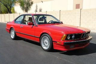 BMW 6 Series 635CSi 1988