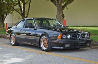 Used BMW Series CSi In Miami Florida - 1988 bmw 6 series