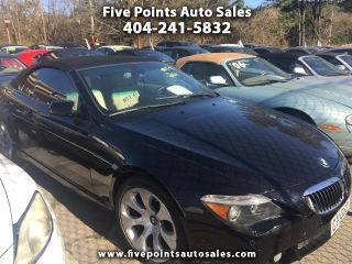 Five Points Auto Sales >> Used 2006 Bmw 6 Series 650i In Decatur Georgia