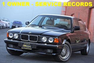 BMW 7 Series 750iL 1990