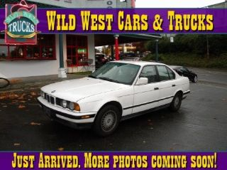 Wild West Cars And Trucks >> Used 1990 Bmw 5 Series 525i In Seattle Washington