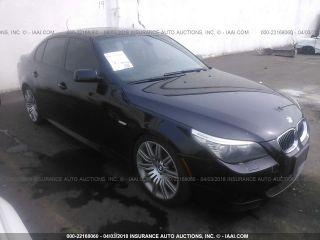 BMW 5 Series 550i 2008