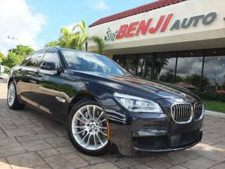 Used 2015 BMW 7 Series 750i in West Park, Florida
