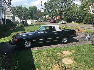 Mercedes-Benz 380 SL 1985