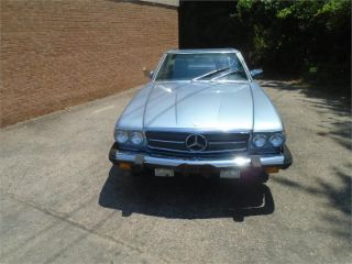 Mercedes-Benz 380 SL 1985