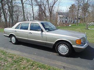 Mercedes-Benz 420 SEL 1987