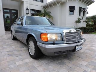 Used 1986 Mercedes-Benz 560 SEL in Naples, Florida