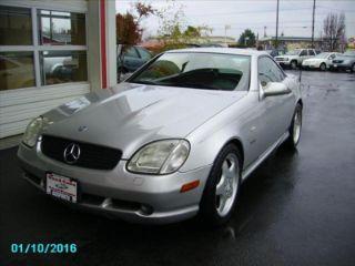Used 2000 Mercedes Benz Slk 230 In Salem Oregon