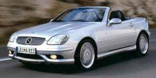2002 Mercedes-Benz SLK 32 AMG