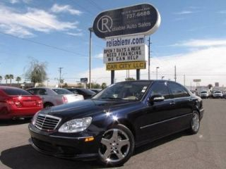 Used 2005 Mercedes-Benz S 500 in Las Vegas, Nevada
