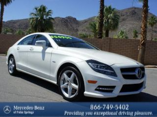 Used 2012 Mercedes-Benz CLS 550 in Palm Springs, California