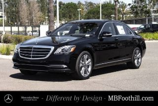New 2018 Mercedes-Benz S-Class S 450 in Foothill Ranch, California