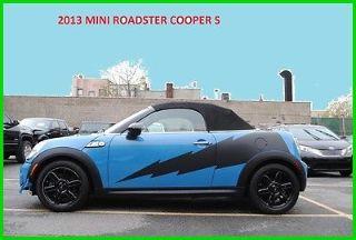 Mini Cooper Roadster S 2013