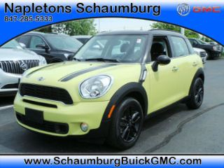 Used 2012 Mini Cooper Countryman S in Schaumburg, Illinois