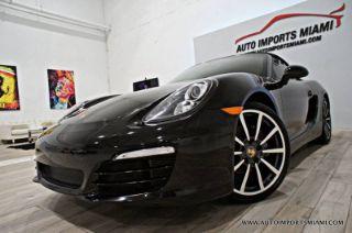 Porsche Boxster Base 2014