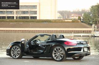 Porsche Boxster Black Edition 2016
