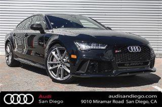 Used 2018 Audi Rs7 Performance Prestige In San Diego California