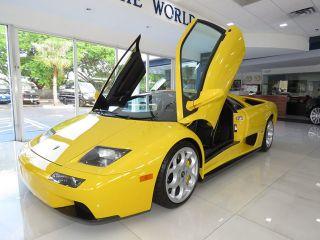 Used 2001 Lamborghini Diablo Vt In Naples Florida