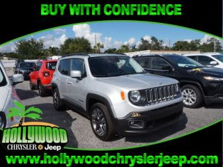 Used 2017 Jeep Renegade Latitude in Hollywood, Florida