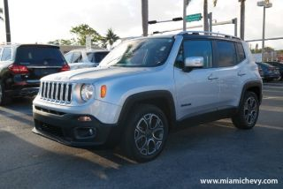 Used 2017 Jeep Renegade Limited in Miami Shores, Florida