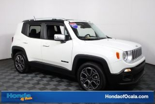 Used 2017 Jeep Renegade Limited in Ocala, Florida