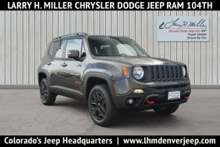 Used 2018 Jeep Renegade Trailhawk in Thornton, Colorado