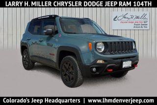 Used 2018 Jeep Renegade Trailhawk in Thornton, Colorado
