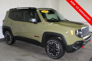 Used 2015 Jeep Renegade Trailhawk in Aledo, Illinois