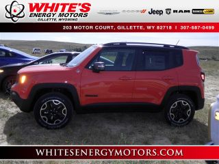 Used 2015 Jeep Renegade Trailhawk in Gillette, Wyoming