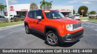 Used 2017 Jeep Renegade Limited in Royal Palm Beach, Florida