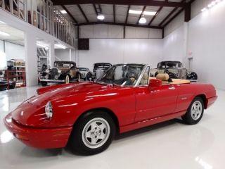 Used Alfa Romeo Spider In Saint Louis Missouri - 1991 alfa romeo spider veloce for sale
