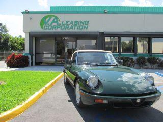 Used Alfa Romeo Spider Veloce In Miami Florida - 1994 alfa romeo spider