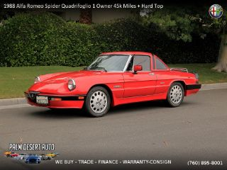 Used Alfa Romeo Spider Quadrifoglio In Palm Desert California - Alfa romeo spider hardtop for sale